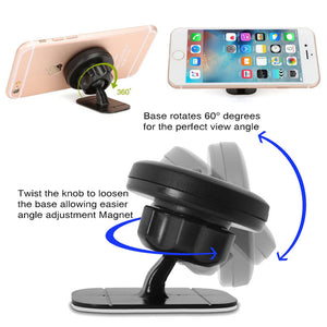 FlashSpree.com: iFlash Stick On Magnetic Car Dashboard Mount Holder by iFlash USA