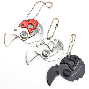 FlashSpree.com: iFlash Round Folding Stainless Steel Pocket Keychain Knife by FlashSpree.com