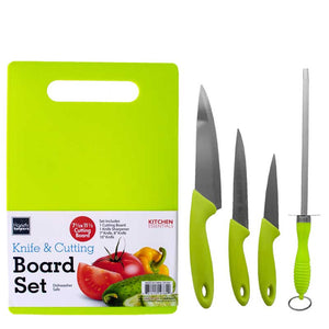 FlashSpree.com: Knife & Cutting Board Set by Handy Helpers