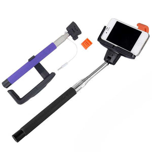 FlashSpree.com: Lax-Max Selfie Wand With Built-in Shutter Button by LAX-MAX