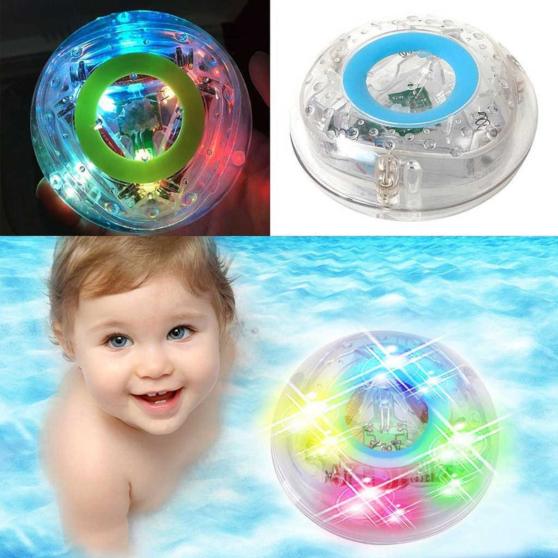 Waterproof Floating Glowing LED Light For Bathtub & Pool Party ...