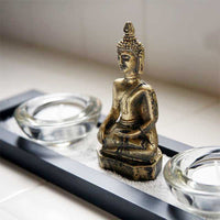 FlashSpree.com: Meditation Votive Candle Holder Set by Handy Helpers