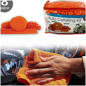 FlashSpree.com: Microfiber Auto Detailing Kit by Handy Helpers