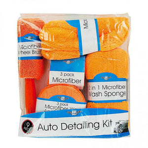 FlashSpree.com: Microfiber Car Wash & Detailing Kit by Handy Helpers