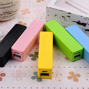 Mini Portable 2600mAh Power Bank Charger With Key Ring