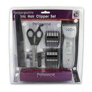 FlashSpree.com: Rechargeable Hair Clipper Set with Accessories by Handy Helpers