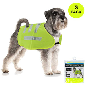 FlashSpree.com: 3-Pack Reflective Dog Safety Jacket by Dukes