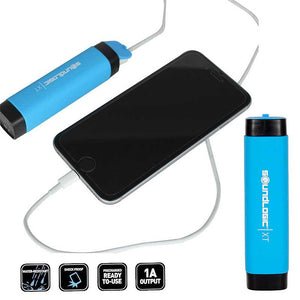 FlashSpree.com: SoundLogic XT 2600mAh Water-Resistant Rechargeable Power Bank by Soundlogic XT