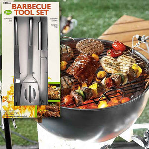 FlashSpree.com: Stainless Steel Barbecue Tool Set by Handy Helpers