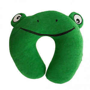 FlashSpree.com: Terry Frog Travel Pillow by Handy Helpers