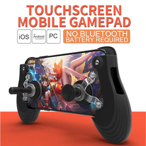 FlashSpree.com: iFlash Mini Pro Touch Screen Mobile Game Pad Controller Joystick Mount by FlashSpree.com