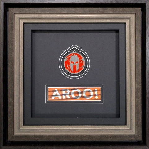 2016 Spartan Kid's Finisher Medal Artisan Frame