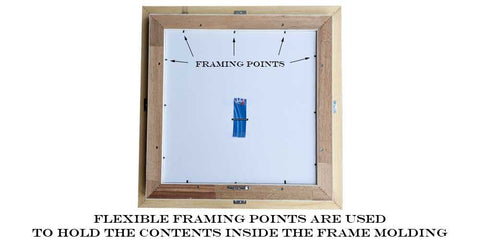 Flexible framing points example