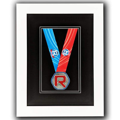 "Race Framers 11"" Wide By 15"" Tall Single Medal Wall Frame"