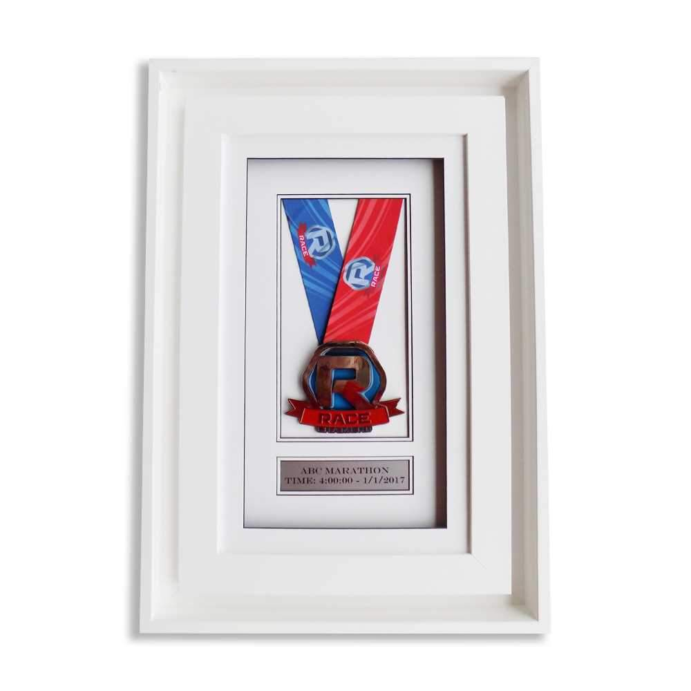 "Race Framers 9"" Wide By 14.5"" Artisan Medal Display Frame"