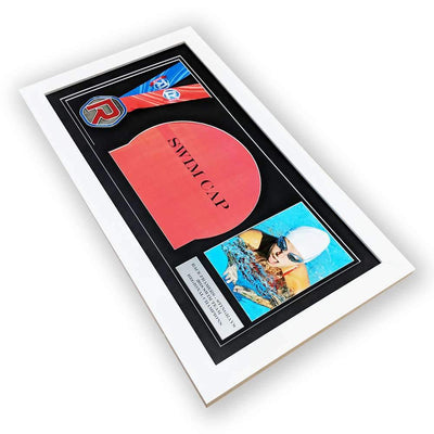 "Race Framers 22"" Wide By 11"" Medal, Swim Cap, Picture And Event Plaque Display Frame"
