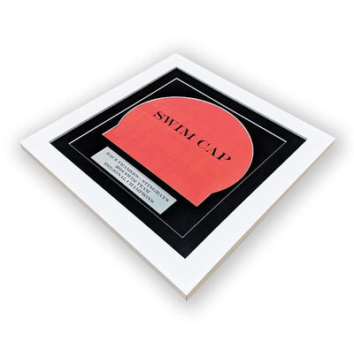 "Race Framers 12"" Wide By 12"" Tall Swim Cap And Event Plaque Display Frame"
