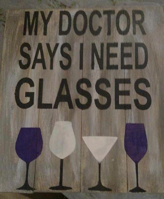 My doctor says I need glasses 10.5x14