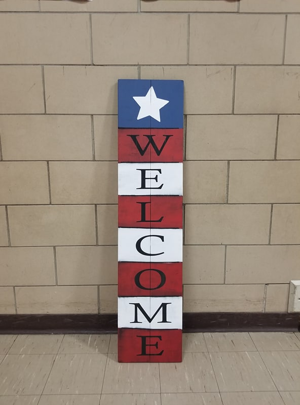 Americana Welcome 4ft