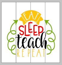 sleep teach repeat 14x14