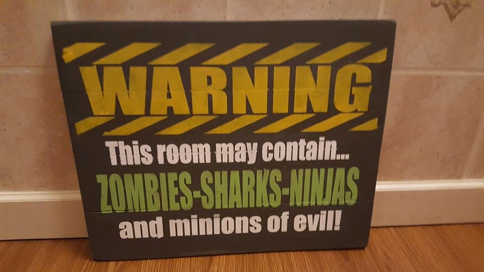 Warning this room may contain 10.5x14