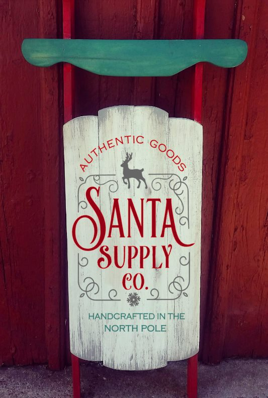 Sled - Santa Supply Co. (sled)