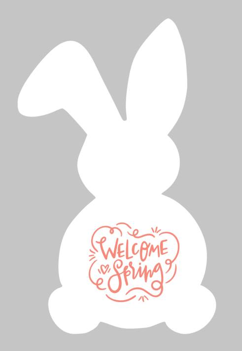 Easter Bunny - Welcome Spring