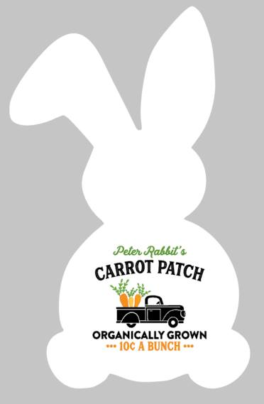 Easter Bunny - Peter Rabbit's Carrot Patch