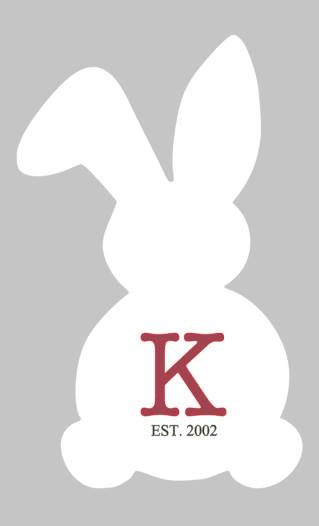 Easter Bunny - Family Initial and Est date