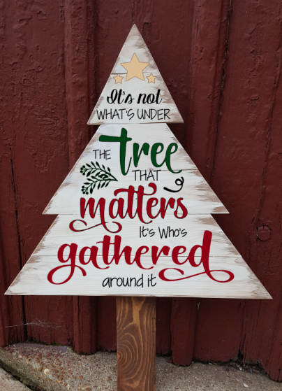 Christmas Tree - It's not whats under the tree that matters