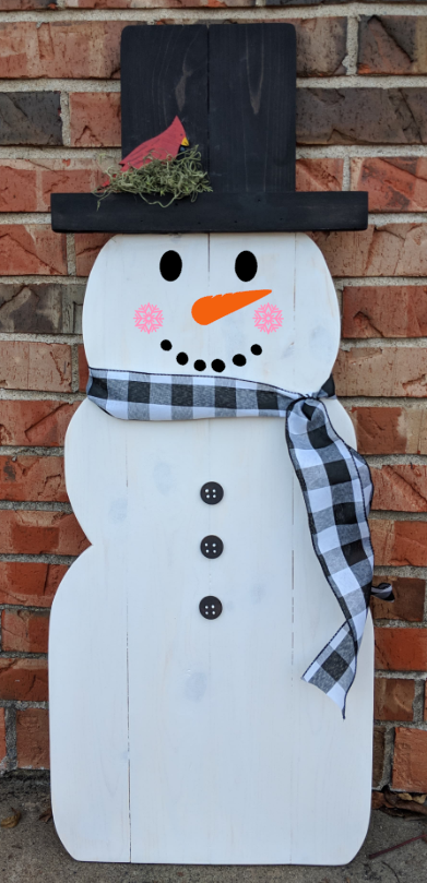 Snowman - Snowman with buttons