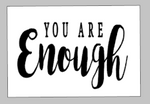 Valentines Day Tiles - You are enough