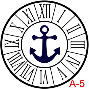 Roman Numerals with border insert anchor  (A-5)