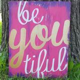 Be you tiful 10.5x14