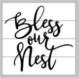 Bless our nest 14x14
