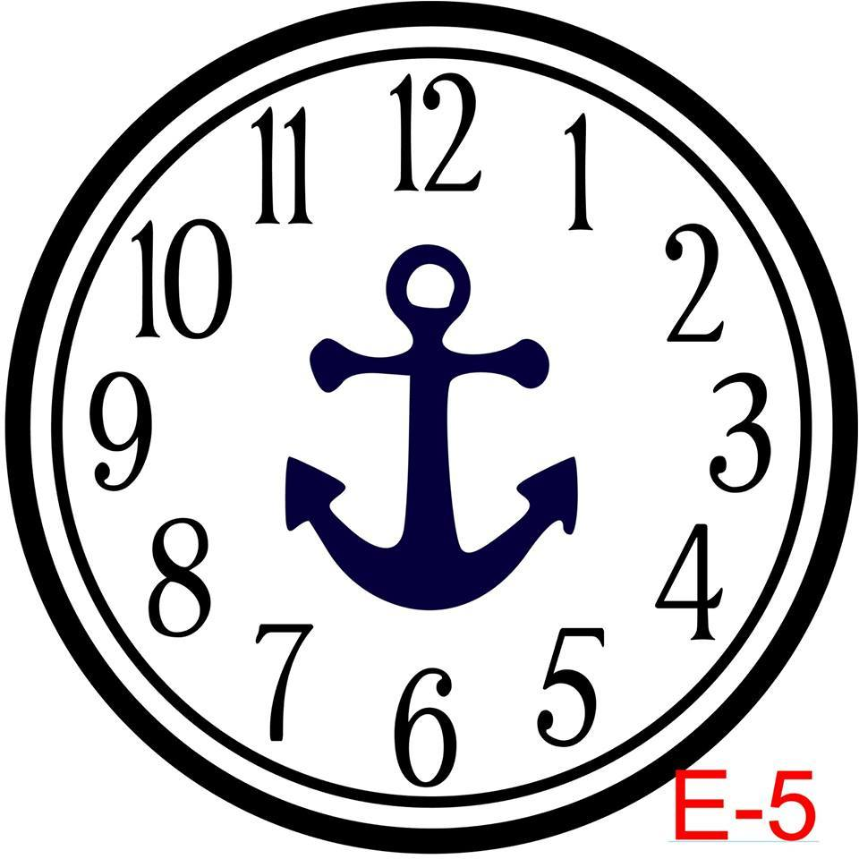 (E-5) Numbers with Circle border insert anchor