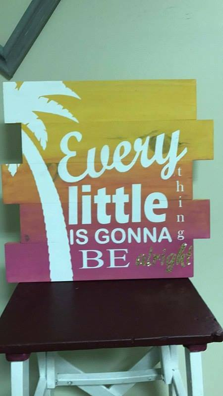 Every little thing is going to be alright 14x14