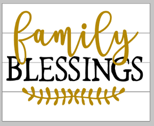 Family blessings 14x17