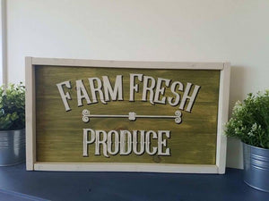 Farm Fresh Produce 10.5x17