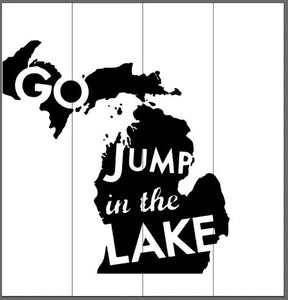 Go jump in the lake 14x14