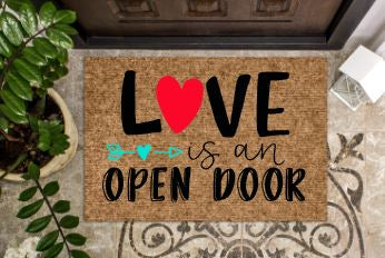 L♥ve is an open door
