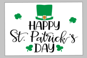 St. Patrick's Day Tiles - Happy St. Patrick's Day