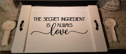 Stove Top - The secret ingredient is always love
