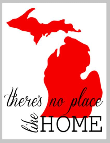 Theres no place like home with state14x17