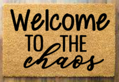 Welcome to the chaos