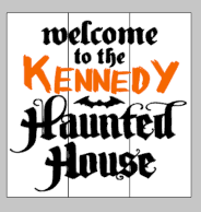 Welcome to the Kennedy haunted house 14x14