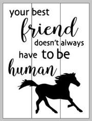 Your best friend doesn't have to be human 14x17