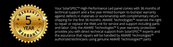 Amare Warranty Policy