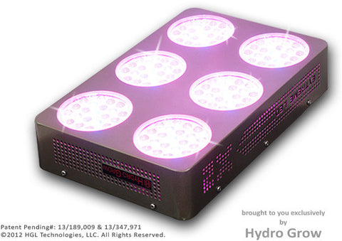 LED Head Grow Lights Official Hydro Grow Image - Hydro Grow -126X-PRO - 200 Watts - Panel - 1