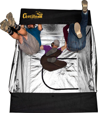 "LED Head Grow Lights Official Gorilla Grow Tents Image - Gorilla Grow Tents - 5 to 200 sq ft - Height:  5'11"" to 7""11 - Tent - 1"